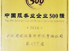 2016年度中国服务业企业500强